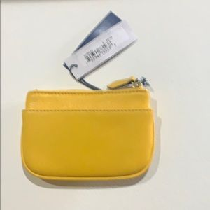Dooney & Bourke Bags - Dooney & Bourke Yellow coin purse